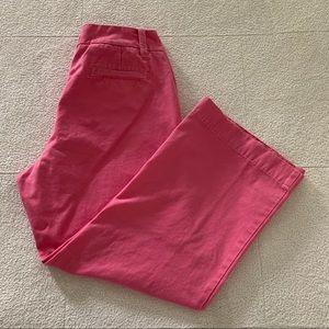 GAP Pink Capri Cropped Pants Women's Size 4